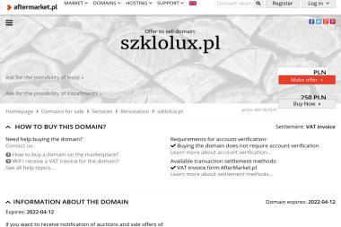 PPHU Szkło-Lux Siedziba Firmy Salon Firmowy - Piaskowanie Metali Puławy