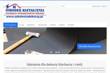 Ośrodek Kształcenia Dekarzy - Budowa Dachu Pruszków