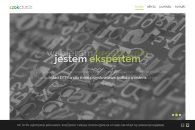 Szok Studio Jakub Woźniak - Druk katalogów i folderów Bydgoszcz
