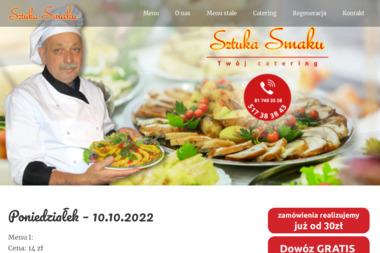 Sztuka Smaku. Obiady, obiady dla firm - Catering dla firm Lublin