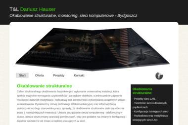 T&L Dariusz Hauser. Serwis komputerowy, komputery - Komputery i sieci Bydgoszcz