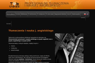 Dawid Tabak Tabtransla - Tłumaczenie Angielsko Polskie Oświęcim