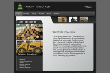 Tadrew Tartak. Tartak, tartaki, tarcica - Drewno Kęty