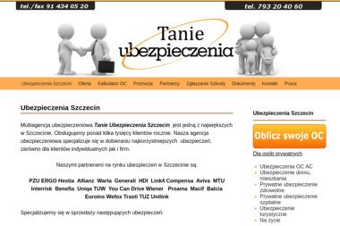 Tanie Ubezpieczenia - Auto-casco Szczecin