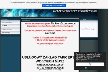 Usługowy Zakład Stolarsko-Tapicersko-Szklarski Naprawa Mebli - Tapicer Orzechowce