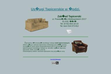 Tapicerstwo, Usługi Tapicerskie Łódź - Tapicer Łódź