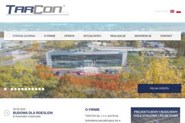 Tarcon Sp. z o.o. Konstrukcje przemysłowe - Konstrukcje Stalowe Tarnów
