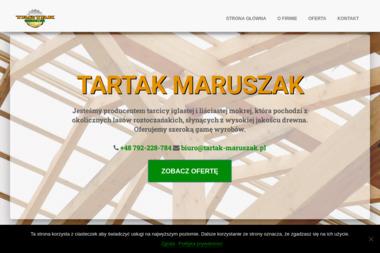 Tartak Maruszak. Drewno budowlane, więźba dachowa - Tartak Krasnobród