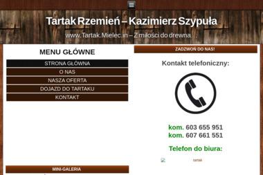 Tartak Rzemień Szypuła Kazimierz - Firma Dekarska Rzemień