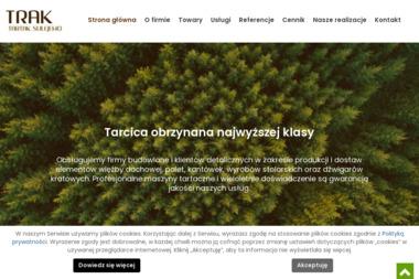 Trak. Augustyn Szczepaniak - Skład drewna Sulejewo