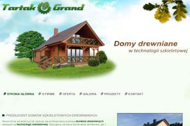 Tartak Grand - Drewno budowlane, domy drewniane, altanki - Tartak Orle