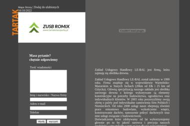 ZUH LE-BAL Michał Łebski. Tartak - Tartak Stare Juchy