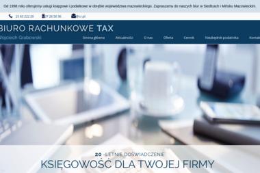 Wojciech Grabowski Biuro Rachunkowe Tax - Usługi finansowe Siedlce