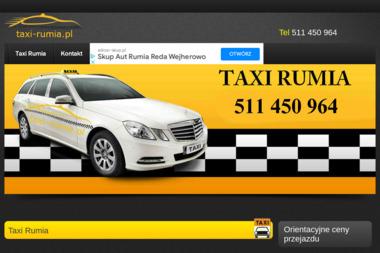Taxi - Przewóz osób Rumia