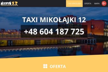 Taxi Osobowe Andrzejczyk Andrzej - Przewóz osób Mikołajki
