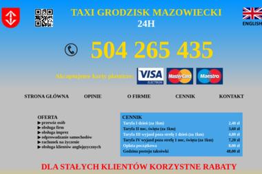 Taxi - Transport Osób Grodzisk Mazowiecki