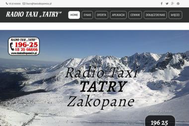 Radio Taxi Tatry. Taksówka, usługi przewozowe, przewóz osób, - Przewóz osób Zakopane