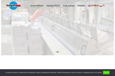 Zakład Poligraficzny Techgraf - Usługi Poligraficzne Łańcut