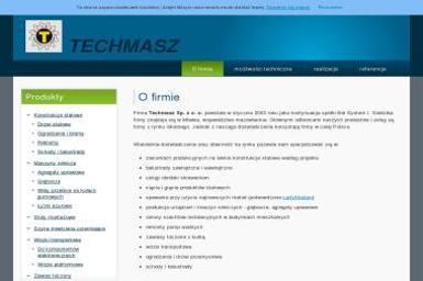 Techmasz Sp. z o.o. - Obróbka metali Mława
