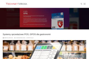 Technet Media Marcin Wójcik. Serwis komputerowy, strony internetowe - Strony internetowe Słupsk