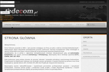 Tedecom Grzegorz Trębiński Marcin Daszkiewicz Spółka Jawna - Instalacje Elektryczne Wichorowo