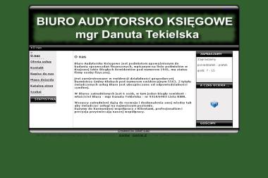 Biuro Audytorsko Księgowe Danuta Tekielska - Biuro rachunkowe Kłobuck