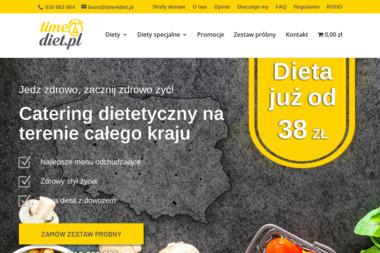 Time 4 Diet - Usługi Gastronomiczne Grójec
