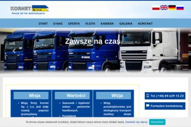 Kornet Sp. z o.o. - Transport busem Zamość