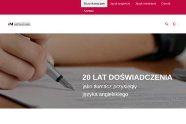 Tłumaczenia Anna Machajewska - Tłumaczenia symultanicznie Gdańsk