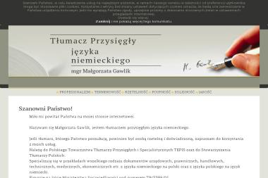 Kontakt S.C. Małgorzata Gawlik Jerzy Morka - Tłumaczenie Angielsko Polskie Łódź