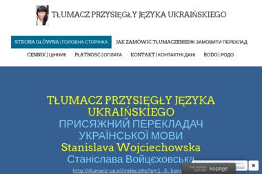 Stanislava Wojciechowska Tłumacz Przysięgły Języka Ukraińskiego - Tłumacze Krosno