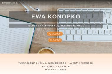 Tłumacz Przysięgły Języka Niemieckiego Ewa Konopko - Tłumaczenia przysięgłe Gdańsk