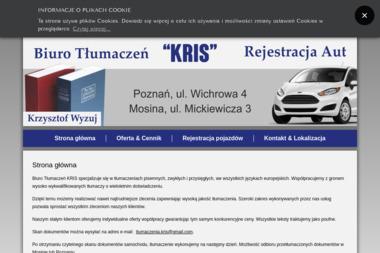 Biuro Tłumaczeń Kris. Tłumacz, tłumaczenia - Tłumacze Mosina