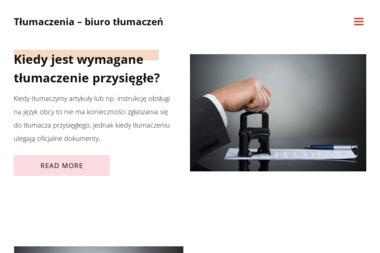 Tłumaczenia S.C. Lenczewski Bogusław Sławomir Lenczewska Dorota - Tłumacze Szczecin