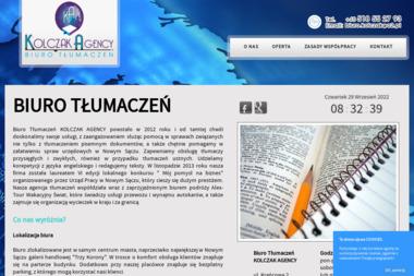 KOLCZAK AGENCY - Tłumacz Języka Angielskiego Nowy Sącz