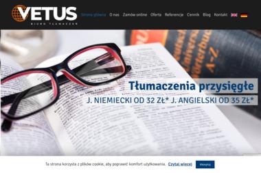 Biuro Tłumaczeń Vetus Jolanta Mizera - Tłumacze Myślenice