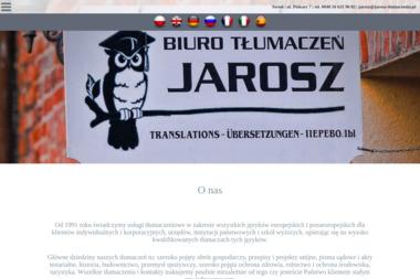 Biuro Tłumaczeń JAROSZ - Tłumaczenia dokumentów Toruń