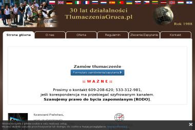 Tłumaczenia GRUCA i Partnerzy 1988 rok - Tłumacze Częstochowa