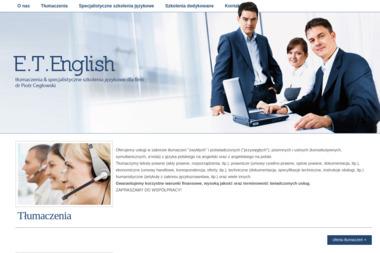 Edu Trans English Tłumaczenia & Specjalistyczne Szkolenia Językowe Dla Firm. Język angielski, - Tłumaczenie Angielsko Polskie Bytkowo