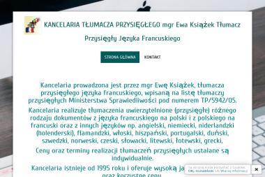 Tłumacz przysięgły mgr Ewa Książek - Tłumacze Krasnystaw