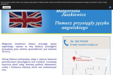 Centrum Tłumaczeń i Nauki Języka Angielskiego Małgorzata Juszkiewicz - Tłumacze Nowogard