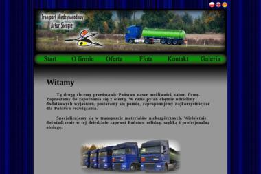 Transport Międzynarodowy Artur Siergiej - Transport ciężarowy krajowy Zielona Góra