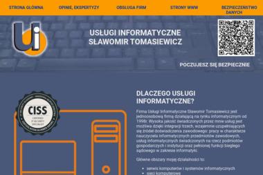 Usługi Informatyczne Tomasiewicz Sławomir - Agencja interaktywna Lubartów