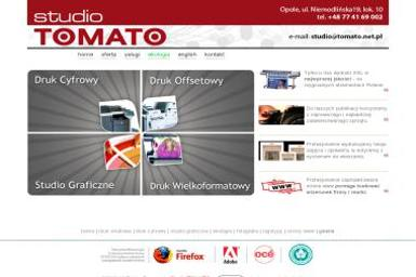 Tomato Studio Graficzne - Drukarnia - Ulotki Opole