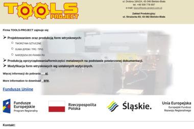 Tools-Project. Formy wtryskowe, obróbka cnc - Tokarz Bielsko-Biała