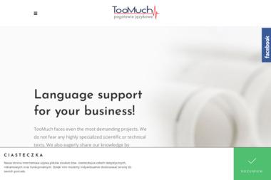 Too Much Pogotowie Językowe - Kursy Języków Obcych Piotrowice