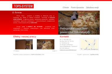 FPHU Tops-System. Sławomir Soluch - Tapicer Kłobuck