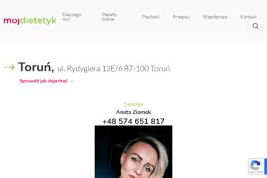 Dietetyk Natalia Niezbecka - Dietetyk Toruń