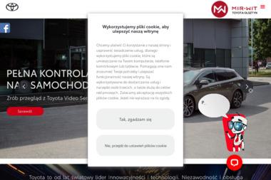 Dealer Toyota MIR - WIT Sp. z o.o. Salon samochodów - Leasing Olsztyn