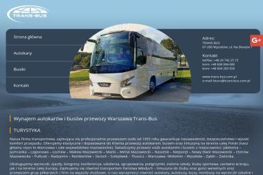 Trans Bus Sławomir Jan Ślesicki - Przewóz osób Wyszków